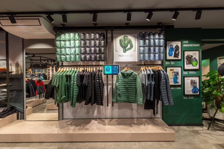 Jack Wolfskin store in Dusseldorf by PPM