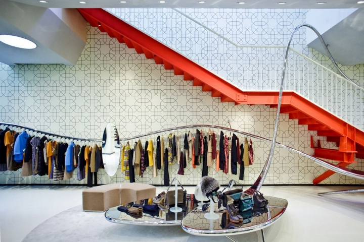 Marni shop design Beijing