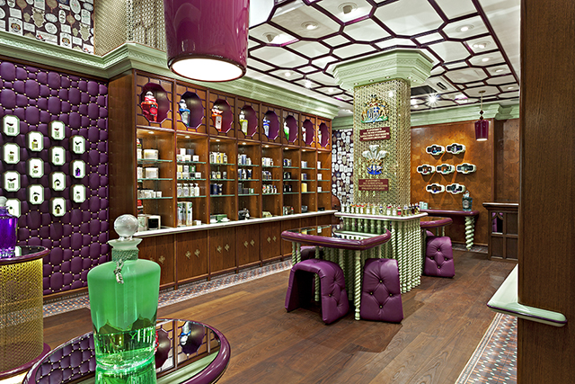 Penhaligon's perfume Shop on Regent Street, London