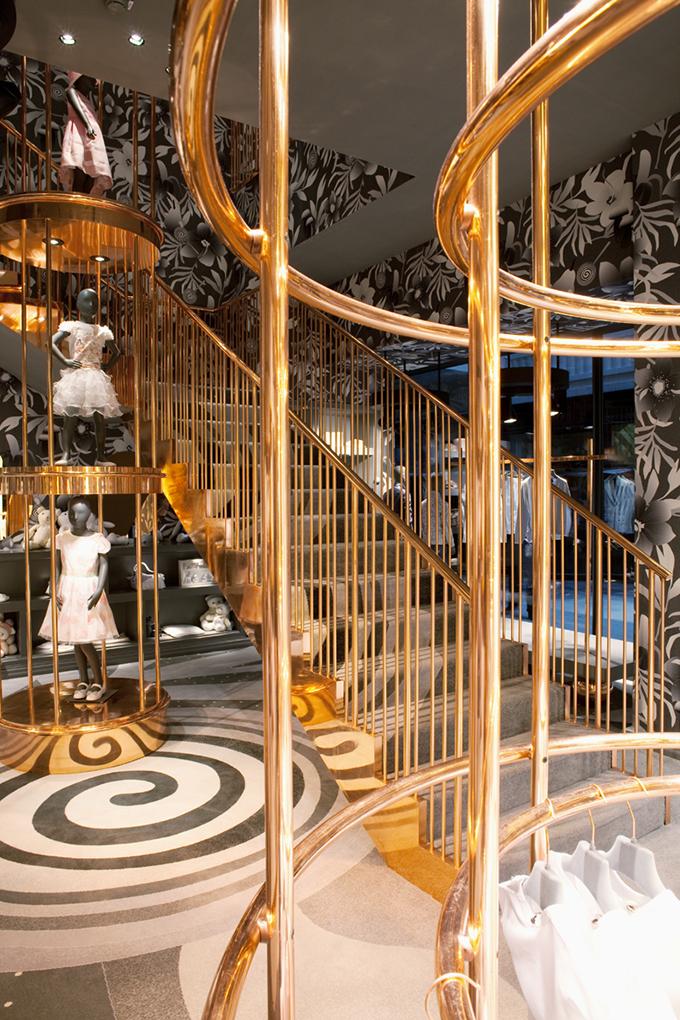 Bambini high-end fashion Store - designer Denis Kosutic