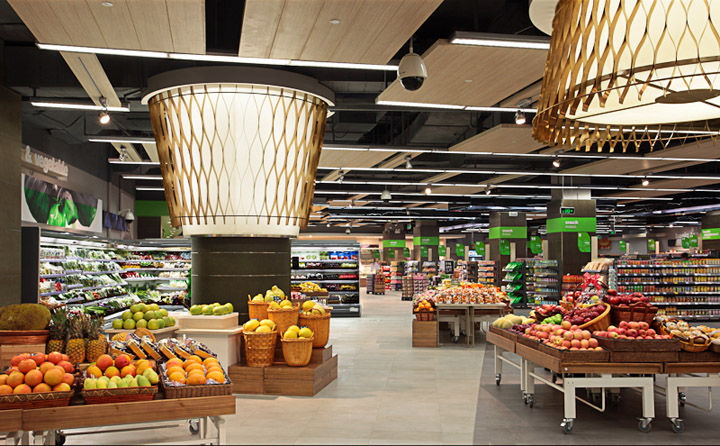 blt* supermarket deign In Shenzhen