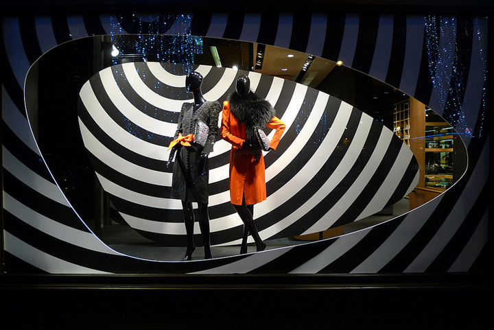 Sonia Rykiel shop windows 2013, Paris