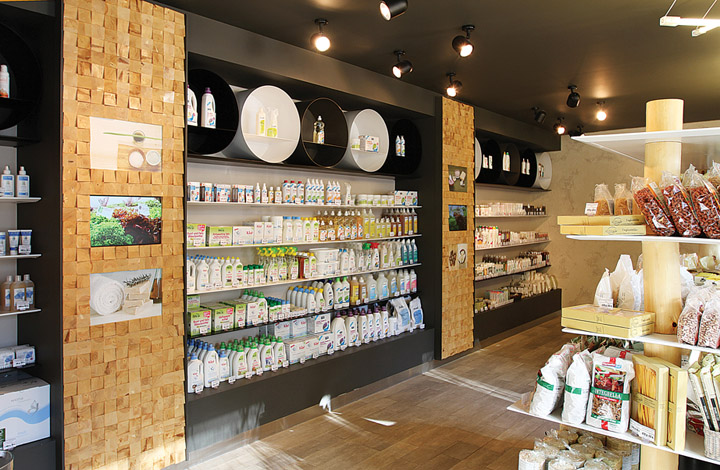 BIOSTORIA natural products store by FRISHMANN, Moscow