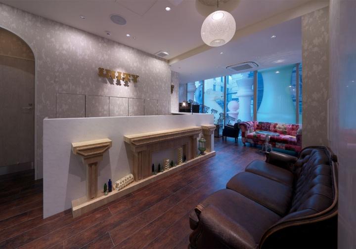 INITY hair salon by Hajime Yoshimoto of VOIGER, Osaka