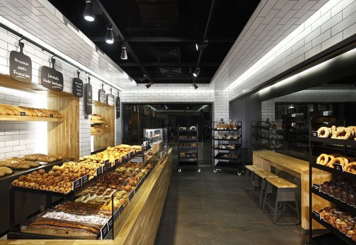 Komşufırın bakery shop by Autoban