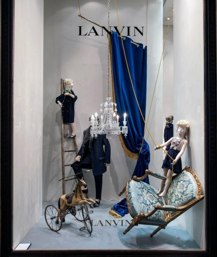 Les enfants terribles- Lanvin Shop windows March 2013
