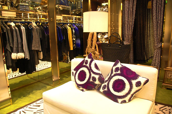 Tory Burch luxury flagship store, London
