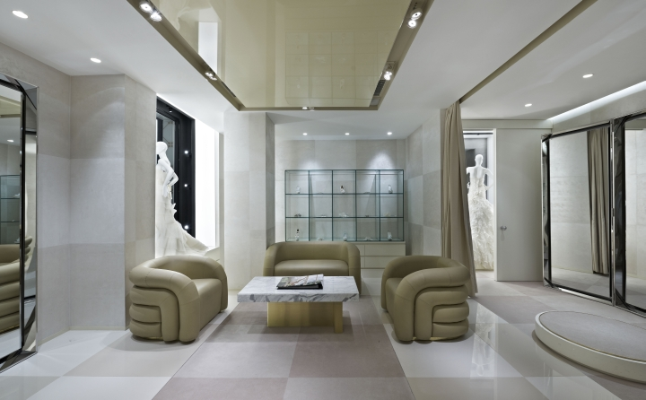 Vakko's luxury Wedding store in Istambul