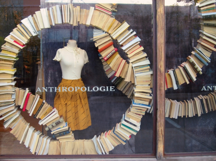 Anthropologie Book Windows