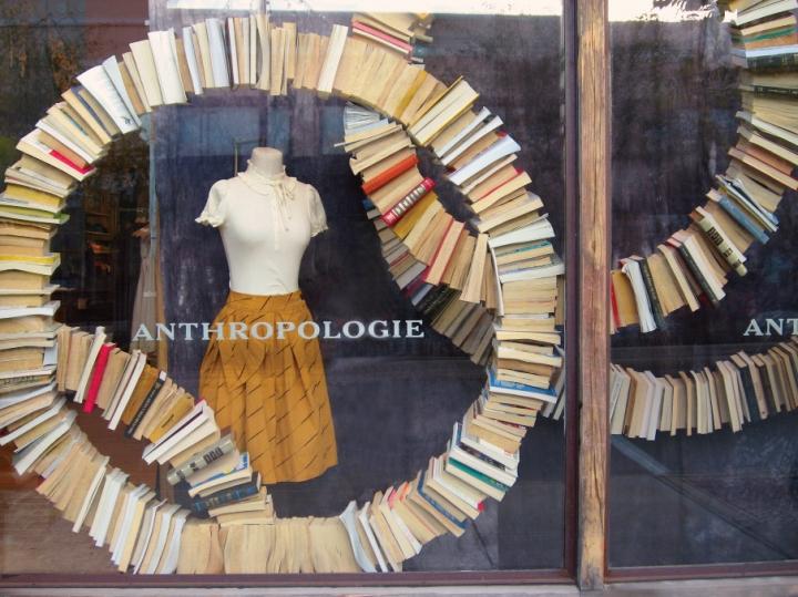 Anthropologie Book Windows