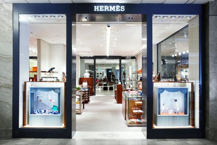 hermès store renewal Stockholm