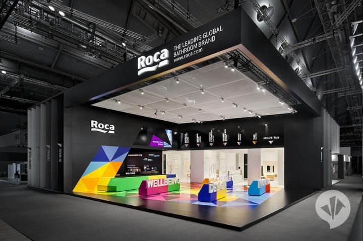 Roca stand design at ISH Frankfurt