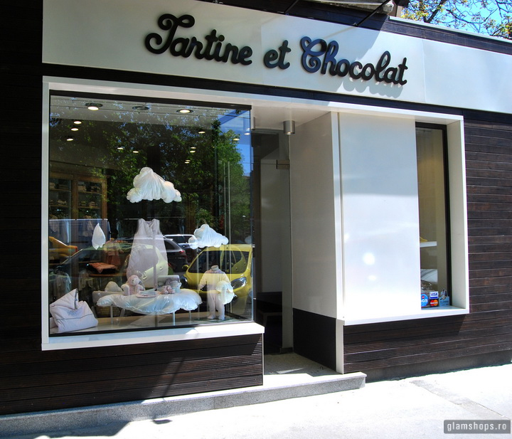 Tartine et Chocolat boutique in Bucharest