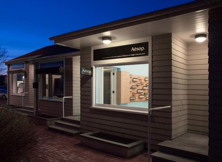 aesop store opening in east hampton