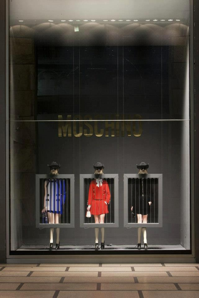 Best of Moschino shop windows- milan