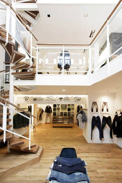 DENHAM flagship store in Amsterdam