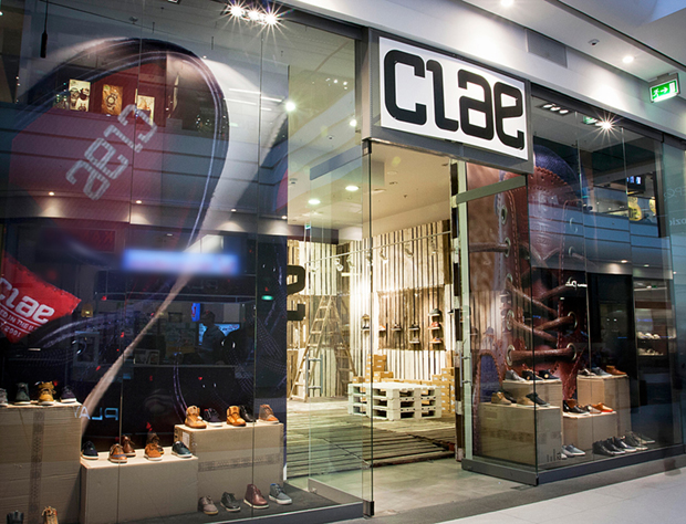 POP-UP STORE CLAE in Poznan