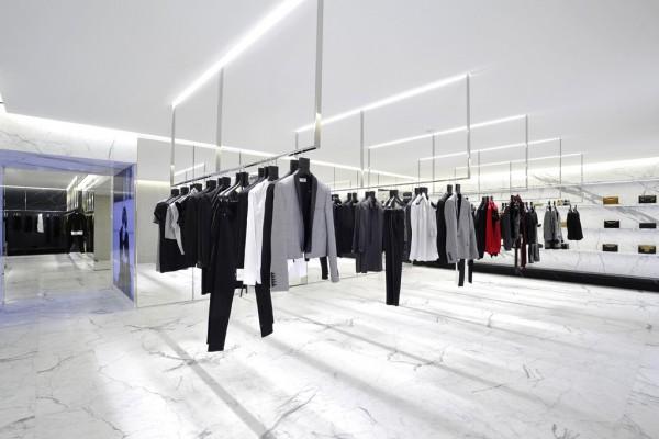 Saint Laurent's largest flagship store at Avenue Montaigne, Paris