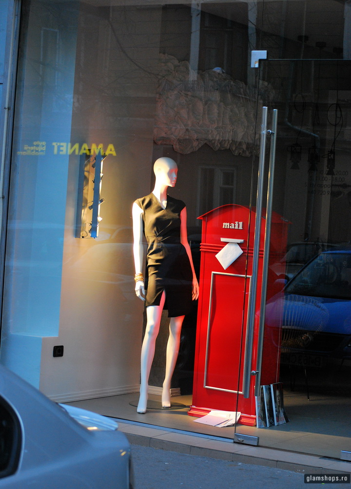 Address boutique in Bucharest