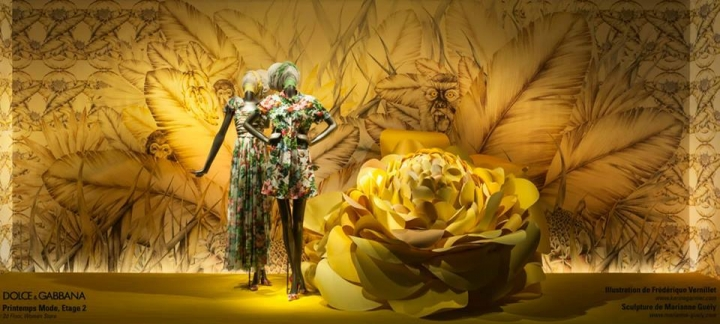 Printemps shop windows