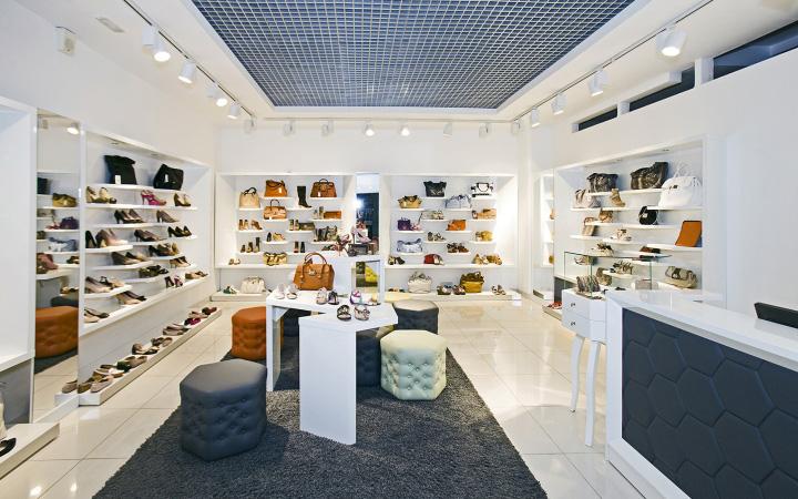 SHOES.RU concept store by A+D design