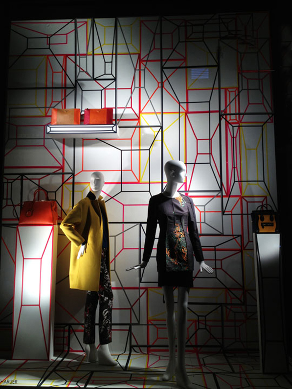 Bergdorf Goodman Fall Windows 2013