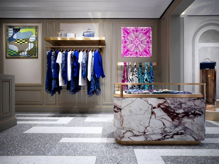 Emilio Pucci opens a new boutique in Rome
