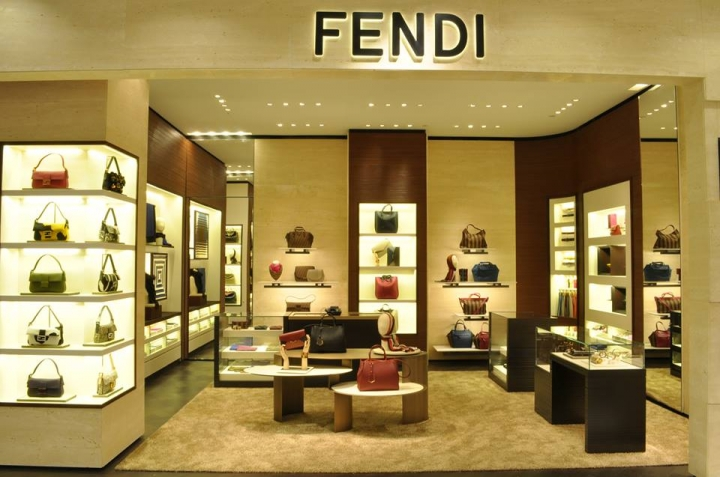 Fendi opened a new store in Bloomingdale 59th