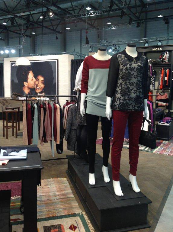 Visual merchandising at Berlin Fashion Week- MEXX