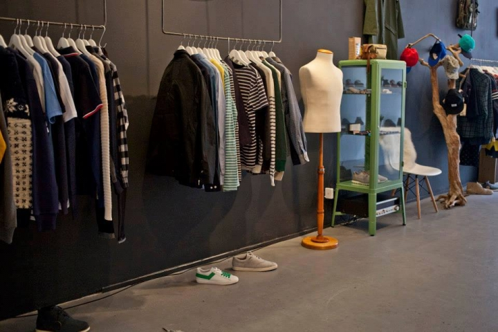 Afura pop-up store, Amsterdam