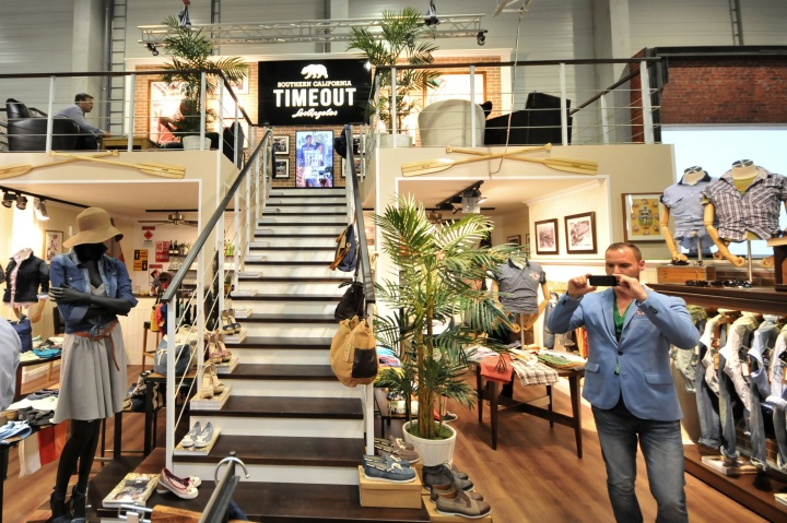 TIMEOUT in-store visual merchandising PANORAMA BERLIN