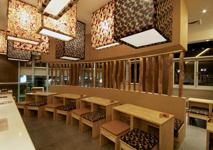 Hana Hana restaurant by Vie Studio, Sydney – Australia