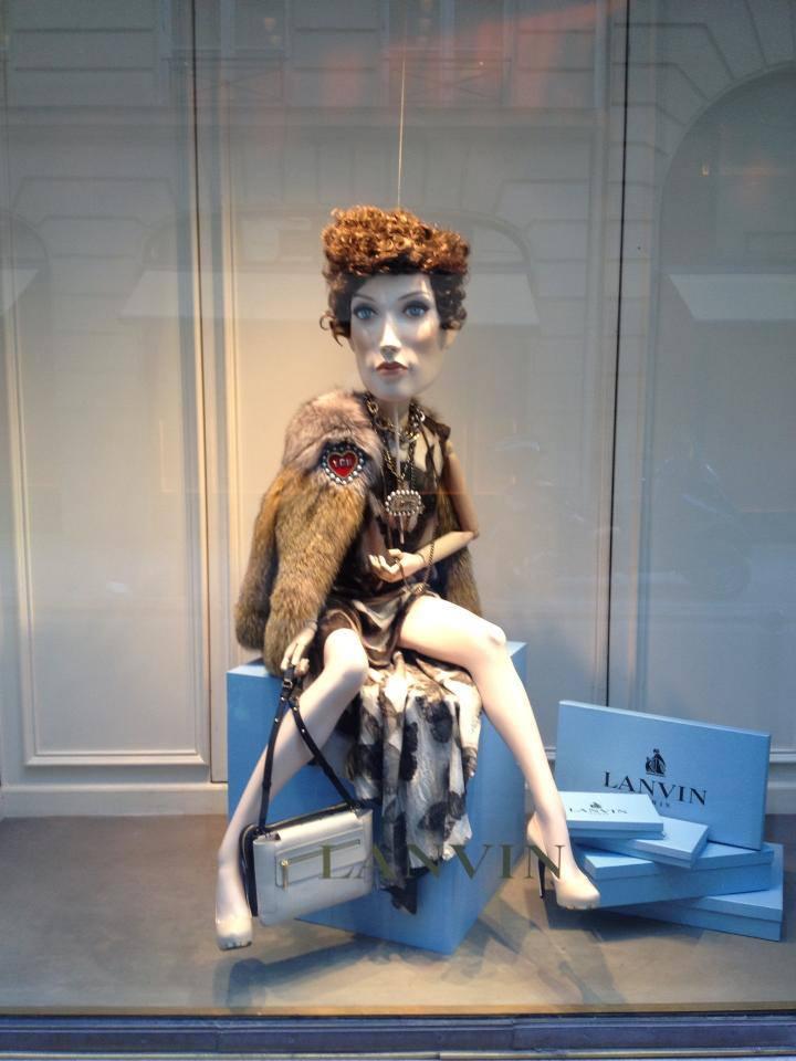 Lanvin mannequins