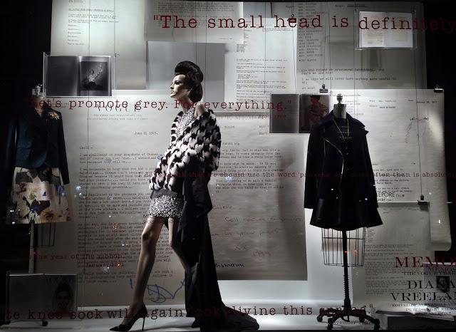 Bergdorf Goodman pays tribute to Diana Vreeland