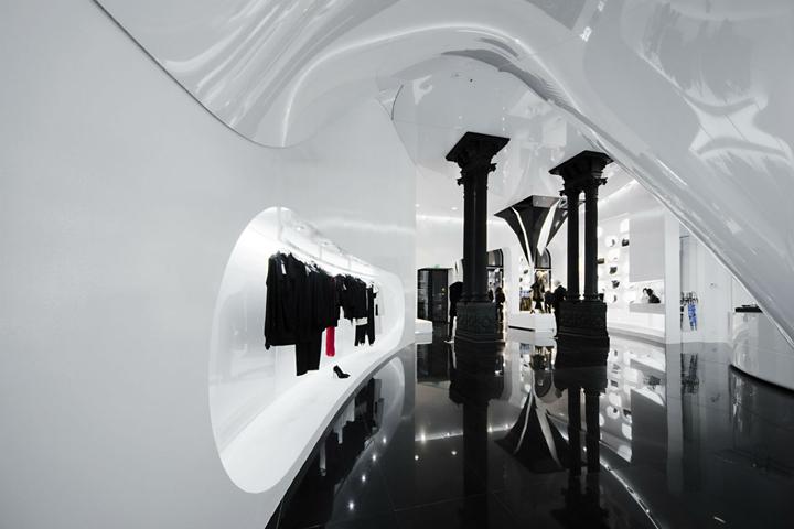 Capsula multibrand store by GöSKE PROJECT, Budapest – Hungary