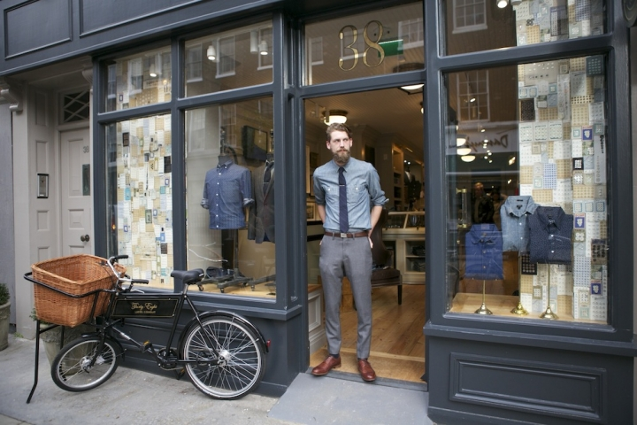 Inside London's J.Crew Menswear Store – No.38