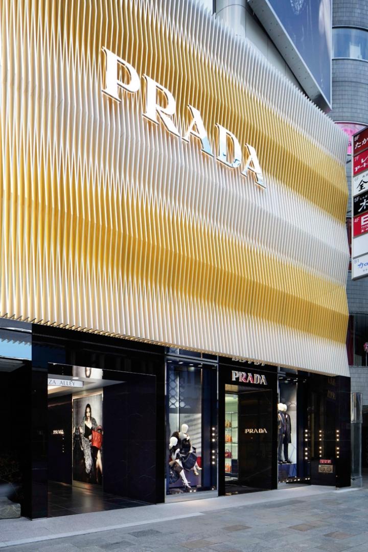 New Prada Store in Tokyo by  Roberto Baciocchi