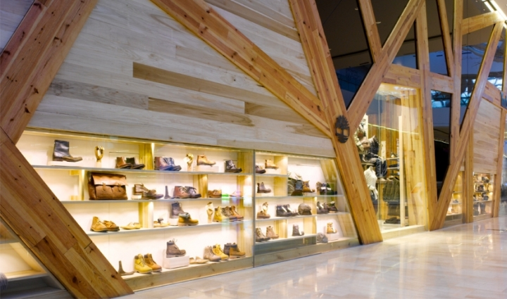 Timberland store by Arno Group