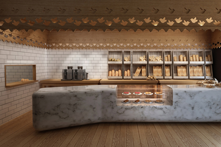 BAKERIES! Maxibread bakery and café by Stone Designs