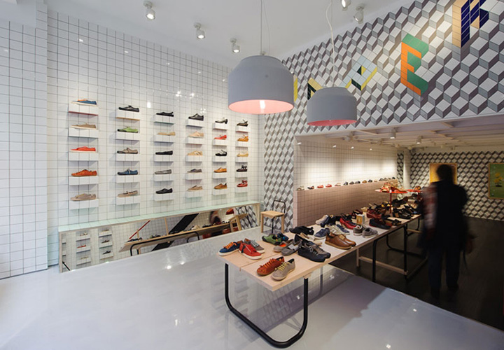 Camper store by Tomás Alonso, Santander, Spain