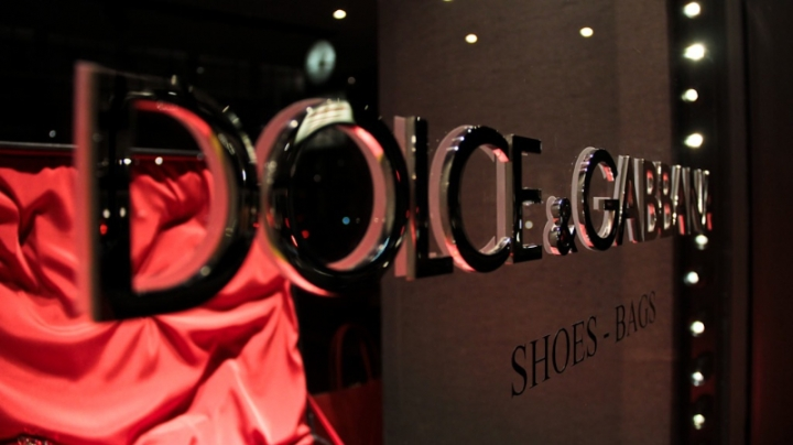 Dolce & Gabbana windows display Milan 2013