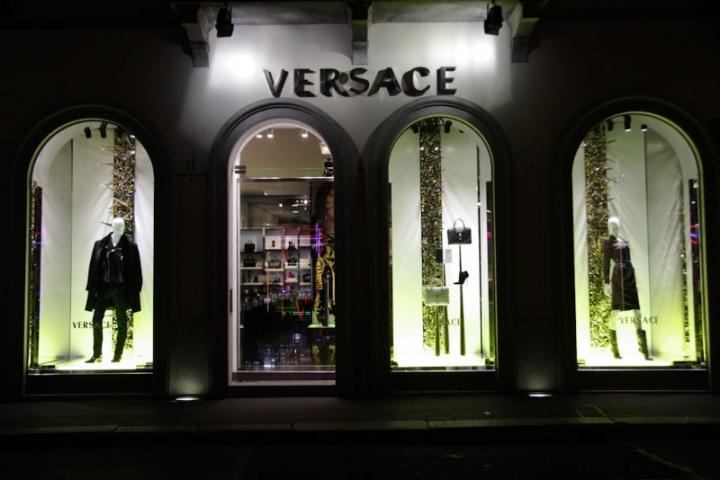 Versace windows display, Milan  2013