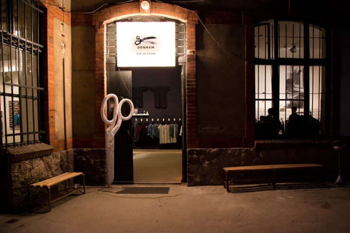 Denham pop-up store in Berlin