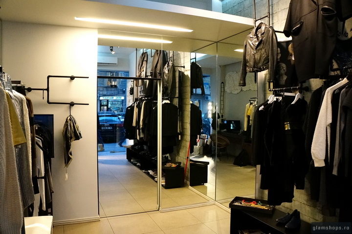 ADDRESS BOUTIQUE interior concept - Bucharest