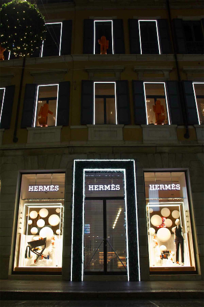 Hermes windows display 2013