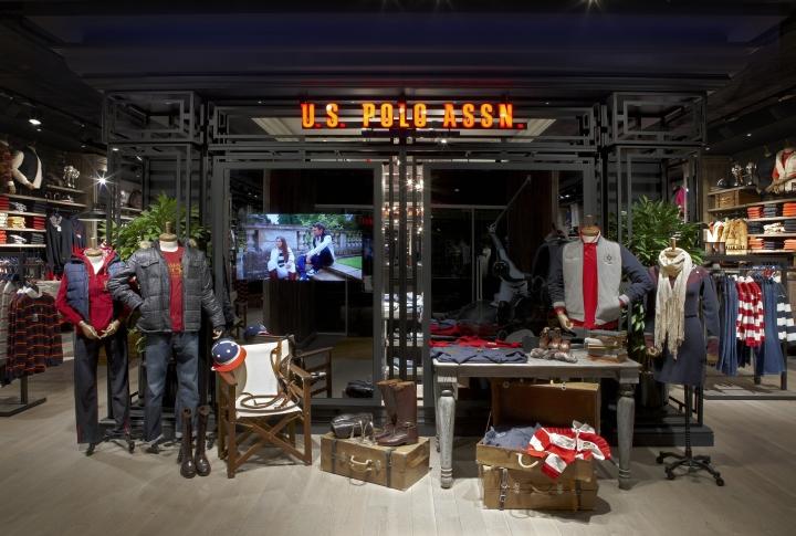 U.S. Polo Assn. store by Geomim, Istanbul – Turkey
