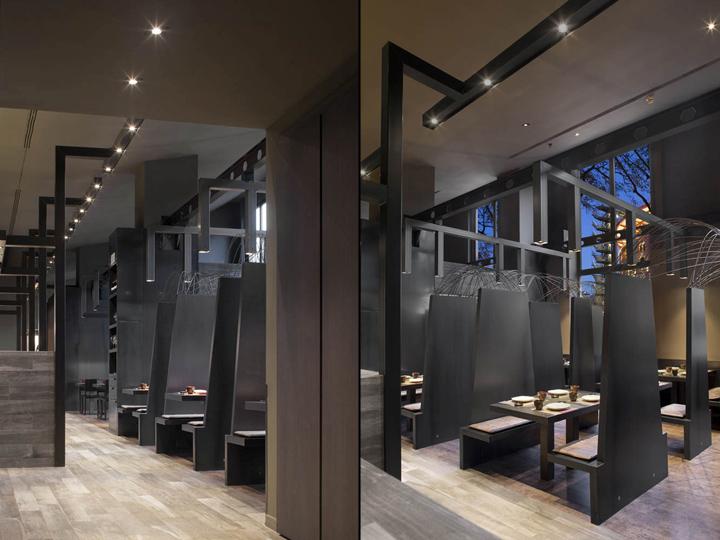 Umo Japanese restaurant  by Estudi Josep Cortina