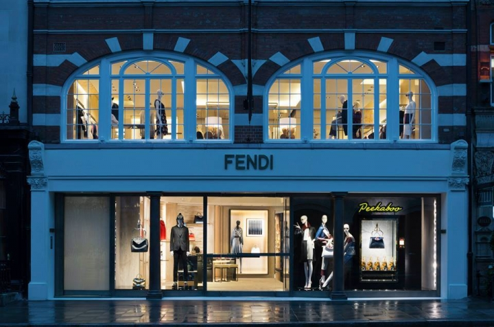 New Fendi flagship store in London