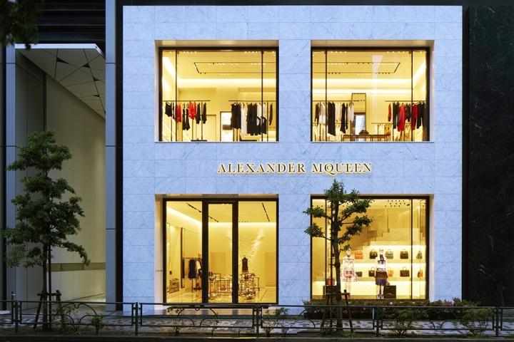Alexander McQueen Unveils First Japanese Flagship