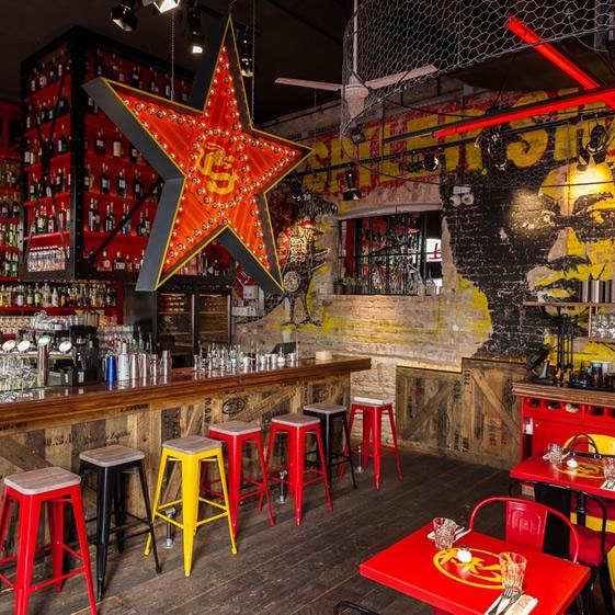Shanghai Seduction restaurant in Budapest